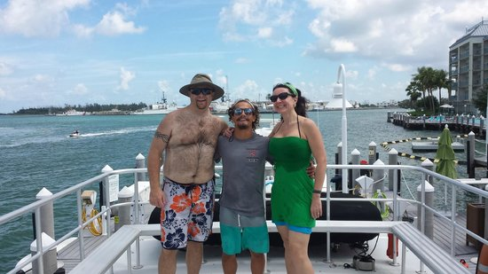 Southpoint Divers : our dive guide Anton