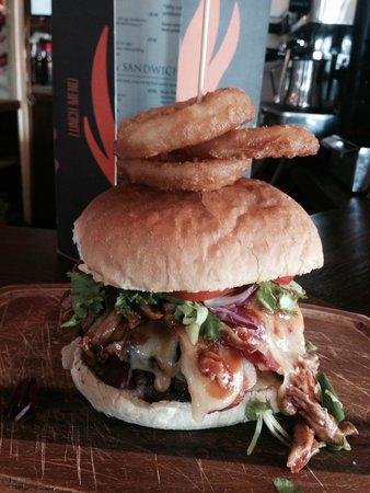 The Deal Smokehouse: Monster Burger!