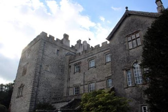 Kendal, UK: Sizergh Castle lakeside