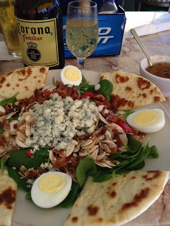 Waterside Grill: Spinach salad, see what I mean?