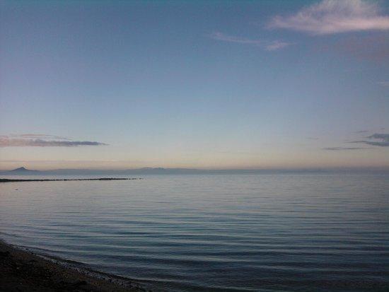 Playa de Los Nietos: HORIZONTE VISTO DESDE PLAYA LOS NIETOS