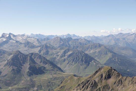 Pic Du Midi: mooie uitzichten