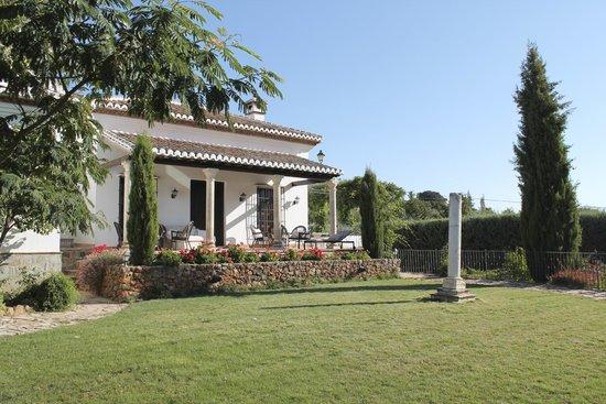 Cortijo Sabila: One of the gardens