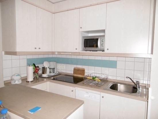 Dorfhotel Sylt: Küchenzeile
