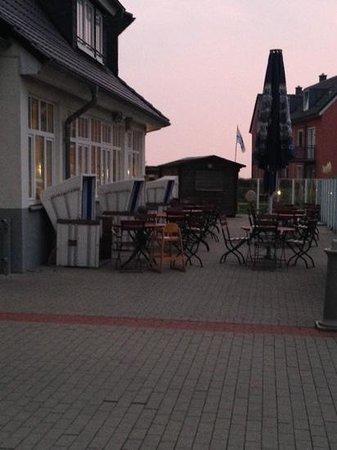 Dorfhotel Sylt: Aussenanlage