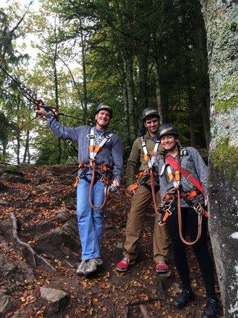 Hotel zum Weyssen Roessle: Hirschgrund zipline near schiltach