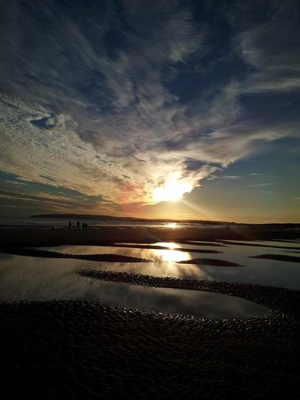 Camber, UK: Sunset
