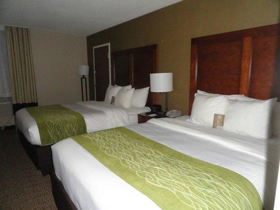 Comfort Inn & Suites : Beds sent from heaven!