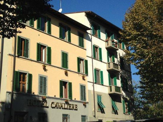 Facciata Hotel Cavaliere Firenze,Piazza Ravenna