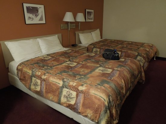 Super 8 Fernie: Two queen beds in the room