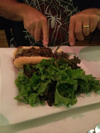 Brian's Pourhouse: Philly Cheesesteak