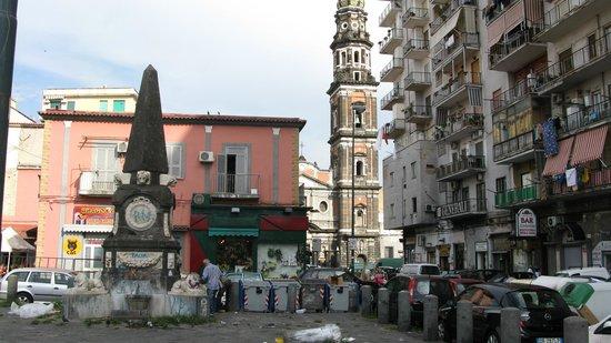 Hotel Sant'Eligio: Quartier.