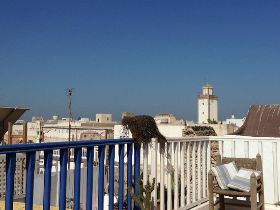 Riad Ocean Medina: view from roof terrace