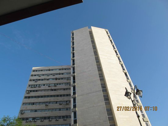Jerusalem Tower Hotel: A tower like hotel
