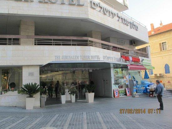 Jerusalem Tower Hotel: Surrounding