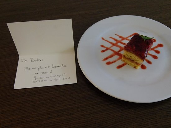 "NH Collection Royal Medellin: Sweet treat at night: ""we are glad you are home,"" says the manager"