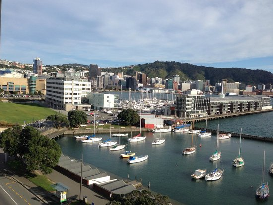Copthorne Hotel Wellington Oriental Bay: Beautiful View from our top level Bedroom