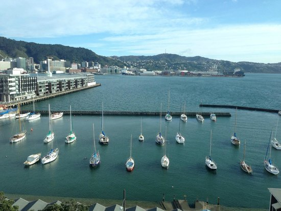 Copthorne Hotel Wellington Oriental Bay: You can't have a better view!!!