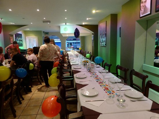 Alexandros Greek Restaurant: Tablee for Fifty+