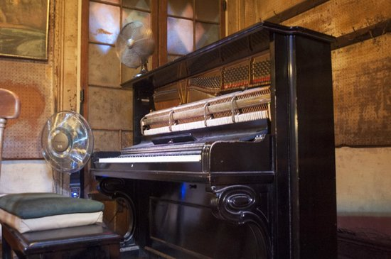 Preservation Hall: Piano in hall