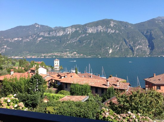 Hotel Belvedere Bellagio: Lake Como and the Alps from our hotel room