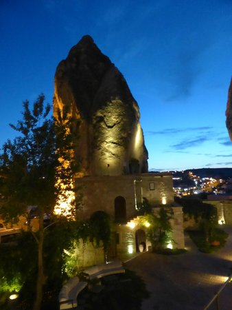 Goreme Ascension Cave Suites: Area externa