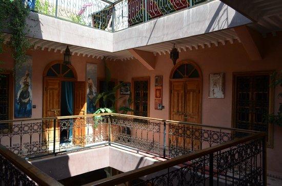 Riad Zayane Atlas: intérieur du riad