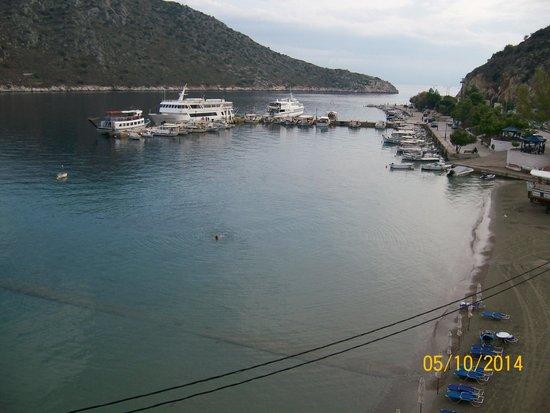 Hotel Minoa : Beach area