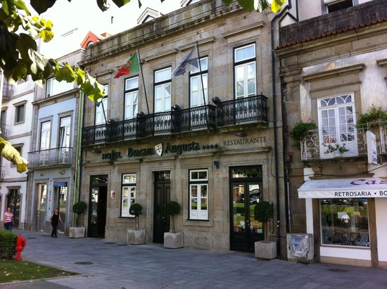 Hotel Bracara Augusta: Fachada