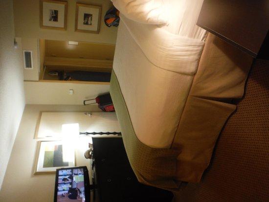 Holiday Inn Metairie New Orleans Airport: Room looking toward door