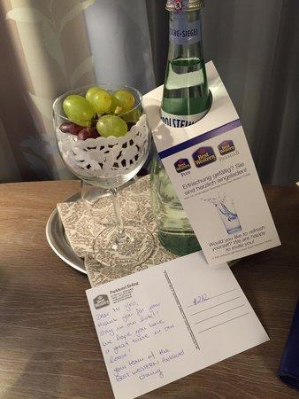 BEST WESTERN PLUS Parkhotel Erding: Complimentary fruits