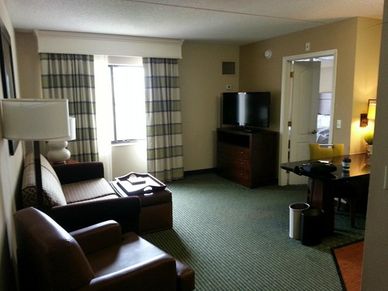 Homewood Suites by Hilton Minneapolis - Mall of America: Front room of Suite