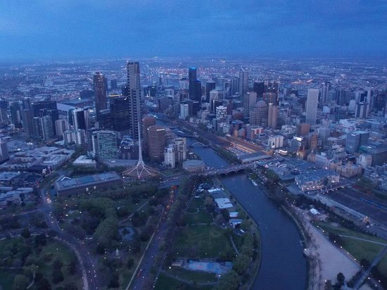 Global Ballooning - Melbourne and Yarra Valley : Amazing views of Melbourne