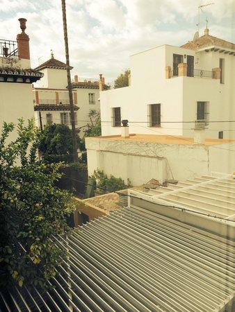 Hotel Holos: Vistas desde la habitacion
