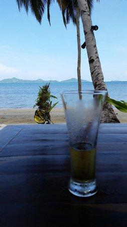 Ursula Beach Club: View from the bar to the beach.