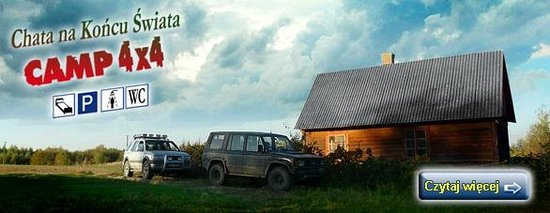 Camp 4x4 : Chata na końcu świata