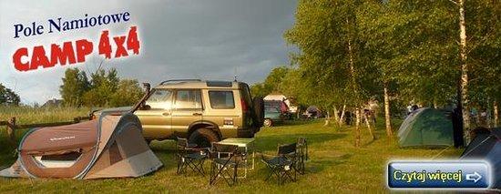 Camp 4x4 : Pole namiotowe