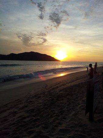Ramada Resort Mazatlan : Puesta de Sol desde el Ramada Resort Mazatlán
