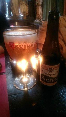 Kathedraalcafe : Trappist beer!