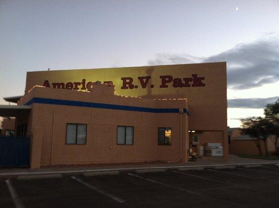 American RV Park: office