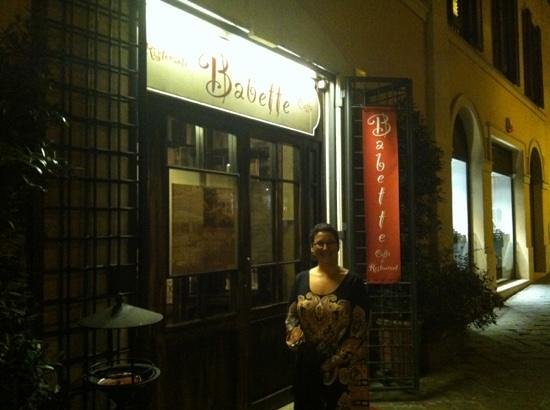 Babette : Lovely ambiance