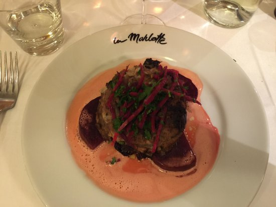 la marlotte : Pressed beef tail with beets