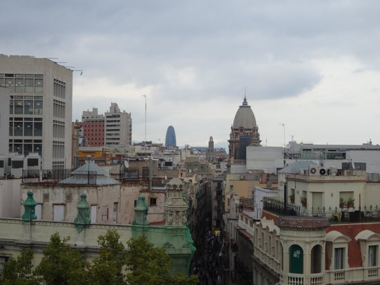 Royal Ramblas Hotel : View from our room