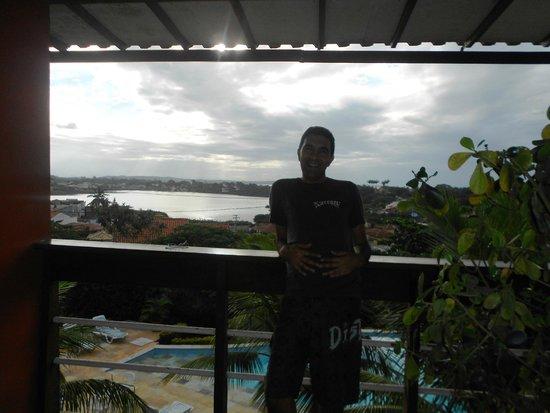Bon Bini Pousada: vista desde el balcon de la habitacion
