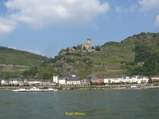 Kaub s Featured of Kaub Rhineland