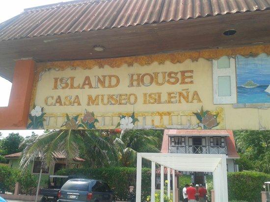 Casa Museo Isleña  : Fachada de la casa