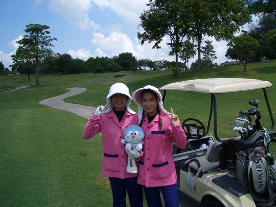 Burapha Golf & Resort: No1キャディ12番