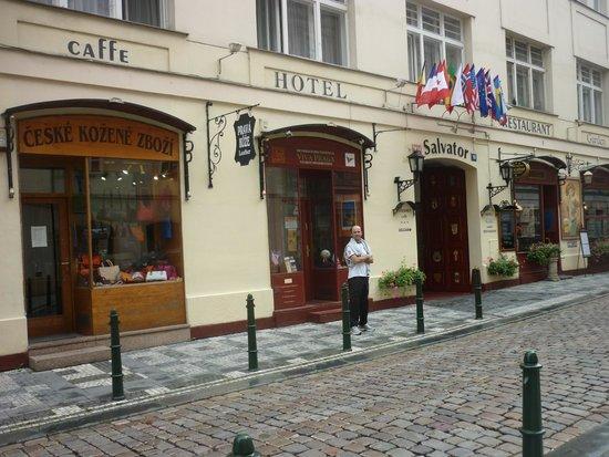 Luxury Family Hotel Bila Labut : Praga