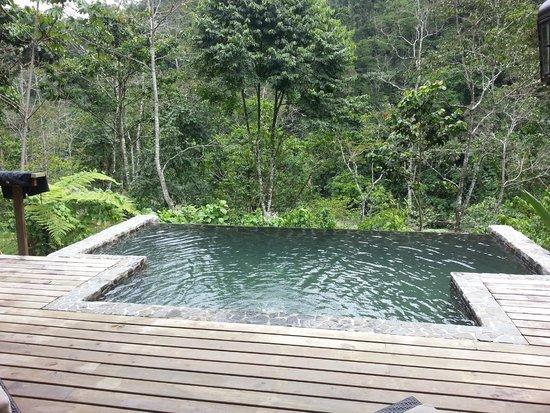 Pacuare Lodge: Infinity Pool