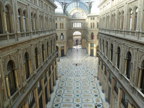 Hotel Art Resort Galleria Umberto: View from the breakfast terrace